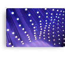 Wave of Blue Light Canvas Print