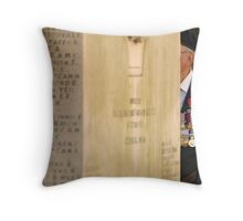 Old Soldier's Medals Throw Pillow