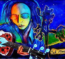 Bob Marley by Gala Gauthier