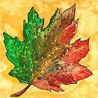 Autumn leaf by HermesGC