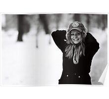 kinga on snow 2 Poster