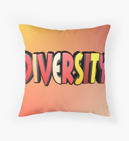 Autumn Diversity Throw Pillow