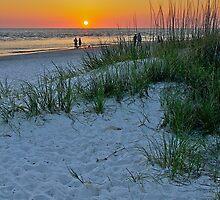 Treasure Island Sunset by Paul Ward