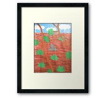 Desert Outback Framed Print