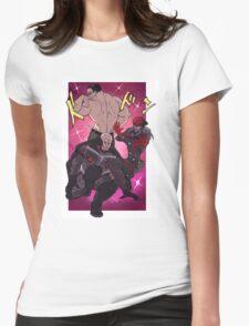 Awaken my cyborgs Womens Fitted T-Shirt