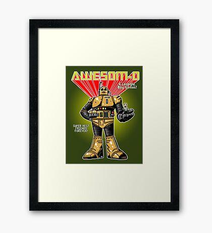 Super-Best Friends Forever Framed Print