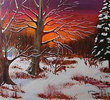 Evening Shadows by Jack G Brauer