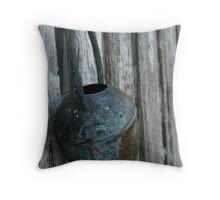 old watering can Throw Pillow