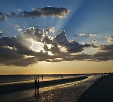 Fort Myers Sunset by Paul Ward
