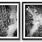 Cross Section A & B [diptych] by Maliha Rao
