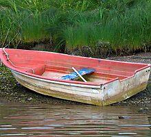 Rowboat at Rest (La Push, Washington) by Brendon Perkins