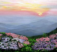Mountain Laurel Dawn by Antionette