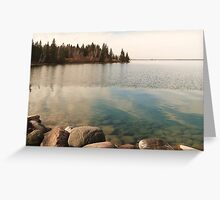 Sultry Lake - Clear Lake, Manitoba Greeting Card