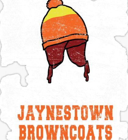 Jaynestown Firefly Browncoats Shirt Sticker