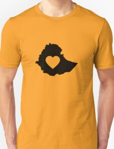 A piece of my heart is in Ethiopia T-Shirt