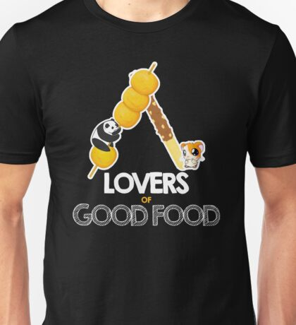 Lovers of Good Food  Unisex T-Shirt