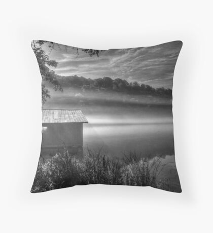Nature's Silk Blanket Throw Pillow