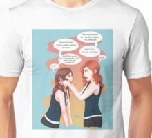 Jealous Chloe .background Unisex T-Shirt