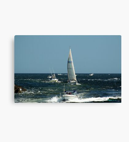 Boats! Canvas Print
