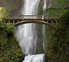 Multnomah Falls Footbridge (Portland, Oregon) by Brendon Perkins