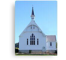 Geeveston Community Church, Tasmania Canvas Print