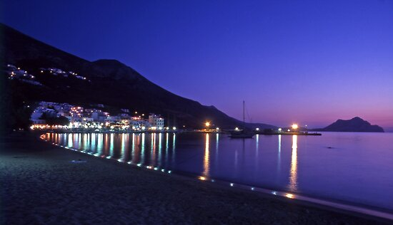 Amorgos, Greece. by Steve Outram