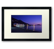 Amorgos, Greece. Framed Print