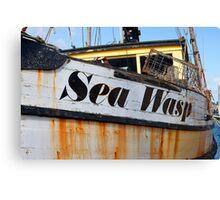 Old Fishing Boat (Neah, Washington) Canvas Print