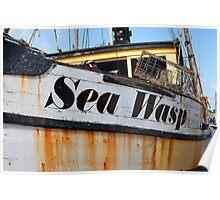 Old Fishing Boat (Neah, Washington) Poster