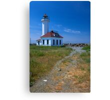 Point Wilson Light House (Washington) Canvas Print