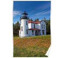 Admiralty Point Light House (Washington) Poster