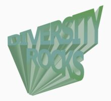 Diversity Rocks-Iced Kids Clothes