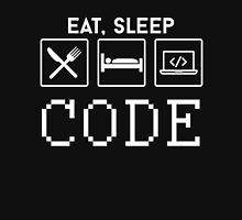 EAT, SLEEP CODE Unisex T-Shirt