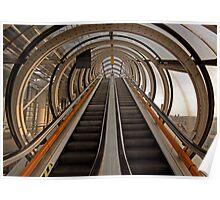 Sky escalator Poster