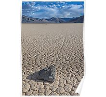Racetrack Playa (Death Valley, California) Poster