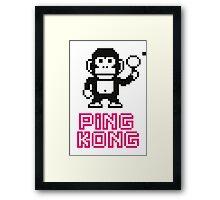 Ping Kong Framed Print