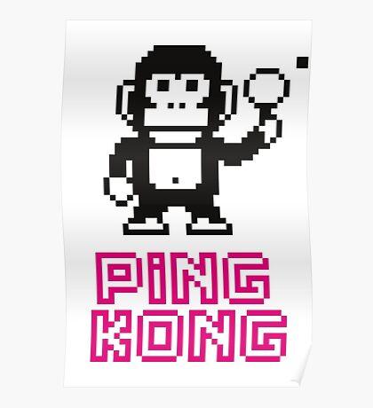Ping Kong Poster