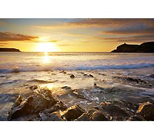 Perfect End, Abereiddy, Pembrobekshire Photographic Print