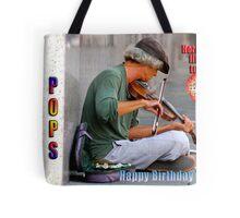 HAPPY BIRTHDAY POPS Tote Bag