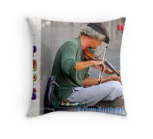 HAPPY BIRTHDAY POPS Throw Pillow