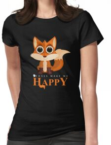 Foxes Make Me Happy T-Shirt