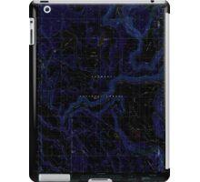 USGS Topo Map Oregon Barnes Valley 278942 1988 24000 Inverted iPad Case/Skin