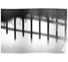 Wrought Iron Reflection Poster
