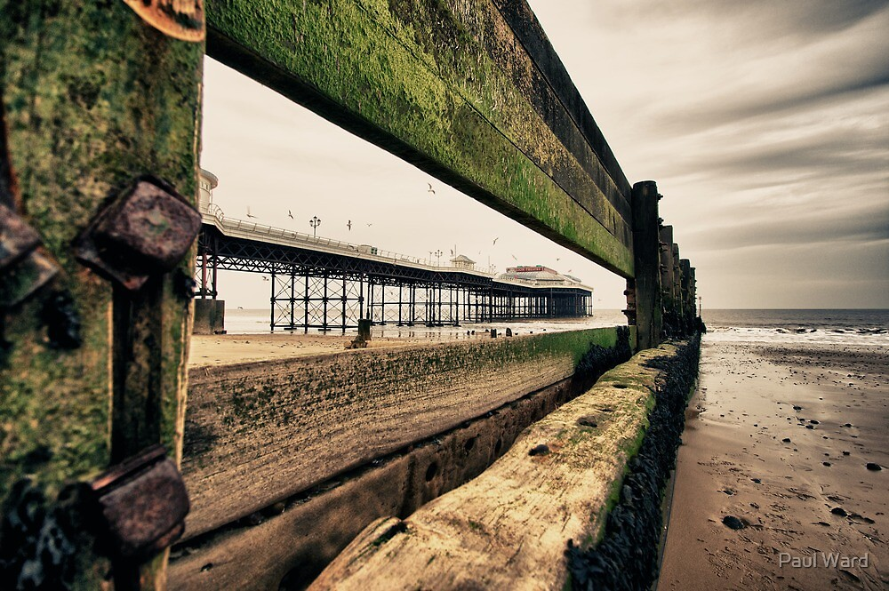 Pier through the Keyhole by Paul Ward