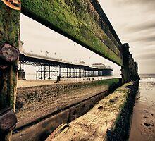 Pier through the Keyhole by Paul Ward