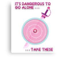 Steven Universe: It's Dangerous To Go Alone Canvas Print