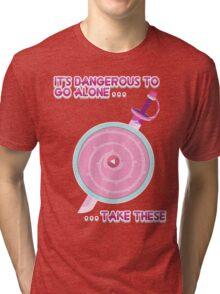 Steven Universe: It's Dangerous To Go Alone Tri-blend T-Shirt