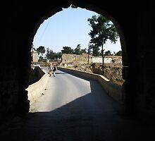 Arch way in Famagusta. by rasim1