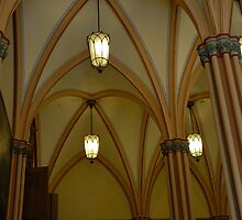 Inside the Town Hall of Erfurt by vbk70