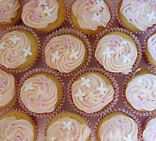 raspberry cupcakes by Littlered1990